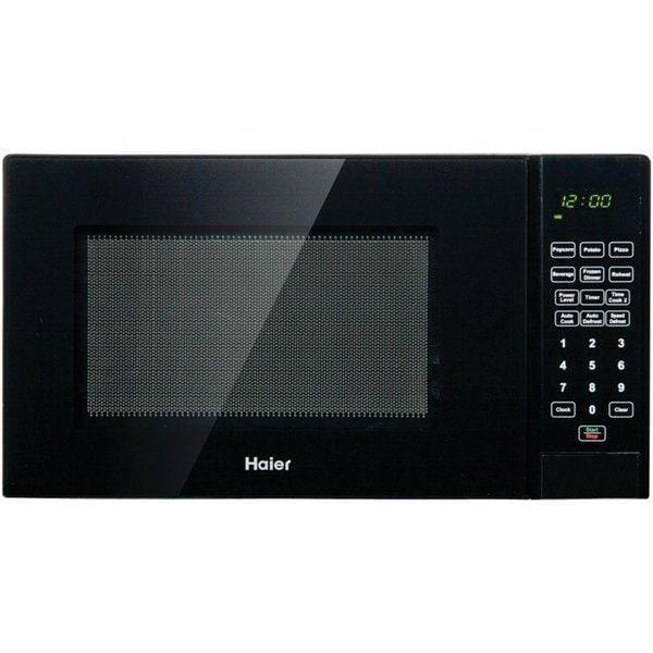 Haier 0.9 Cu. Ft. 900W Microwave  Black