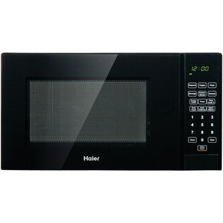 Haier 0.9 Cu. Ft. 900W Microwave Black