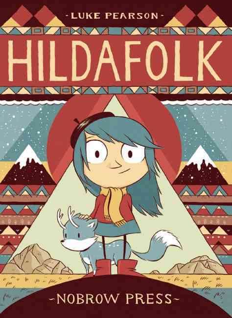 Hildafolk (Paperback)