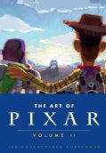 The Art of Pixar: 100 Collectible Postcards (Postcard book or pack)