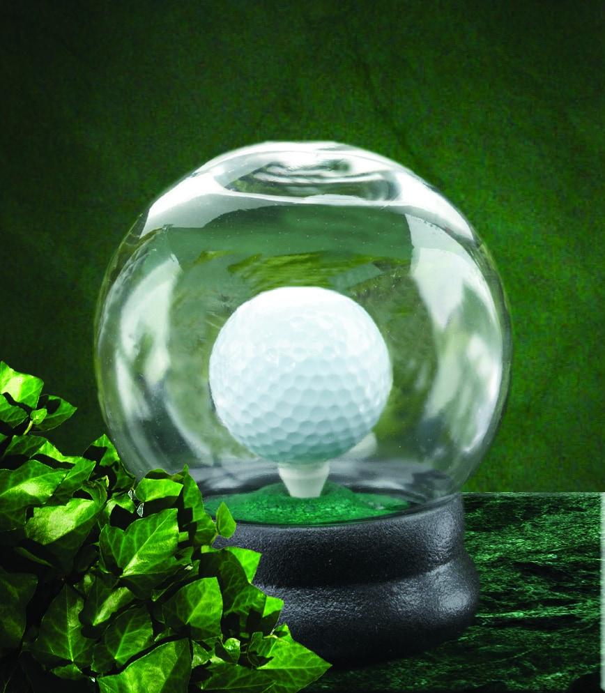 Golf Ball Waterglobe