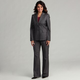 Tahari ASL Women's Notch Pinstripe Pant Suit