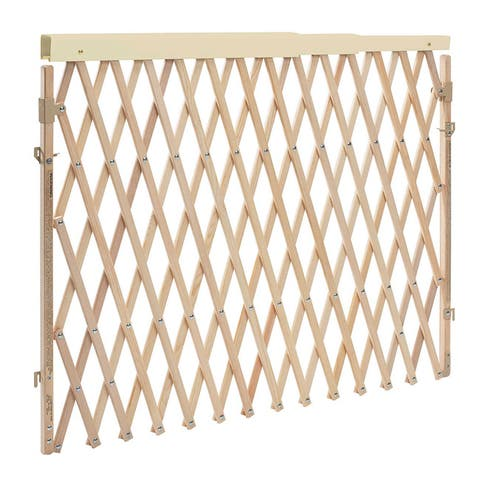 Evenflo Expansion Swing Wide Child Gate in Natural