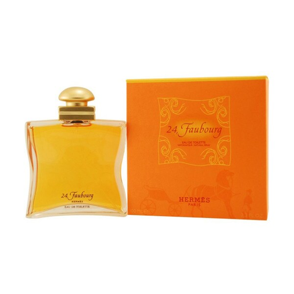 Hermes '24 Faubourg' Women's 3.3-ounce Eau de Toilette Spray