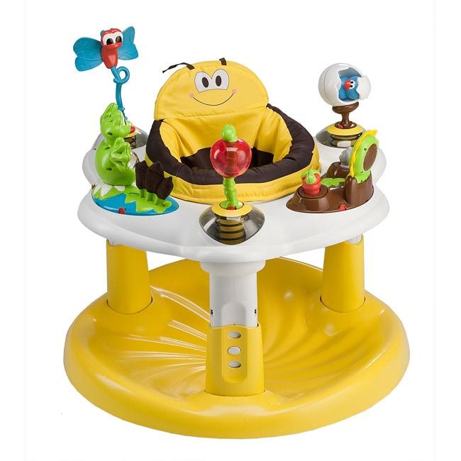 Evenflo ExerSaucer Backyard Discovery Bee Activity Center