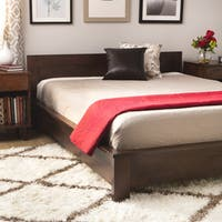 Copper Grove Alsa Deep Brown King Platform Bed Frame