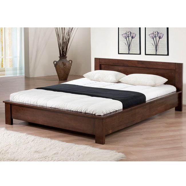 Alsa Platform Full Size Bed - Free Shipping Today - Overstock.com ...