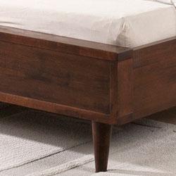 Vilas Platform Full Size Mid-century Style Bed
