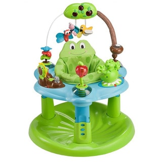 Shop Evenflo Exersaucer Jump And Learn Frog Activity