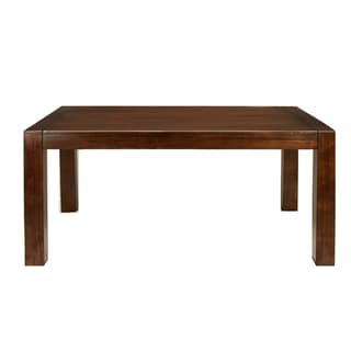 Furniture of America Pristine Dark Oak Rectangular Dining Table