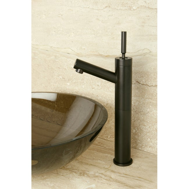 Oil Rubbed Bronze Vessel Sink Bathroom Faucet - Thumbnail 0