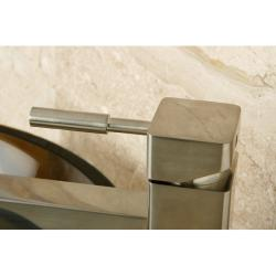 Satin Nickel Vessel Bathroom Faucet