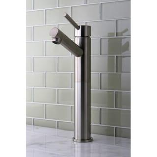 Satin Nickel Vessel Sink Bathroom Faucet