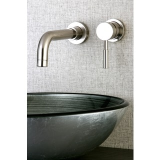 Wall Mount Chrome Single Handle Bathroom Faucet