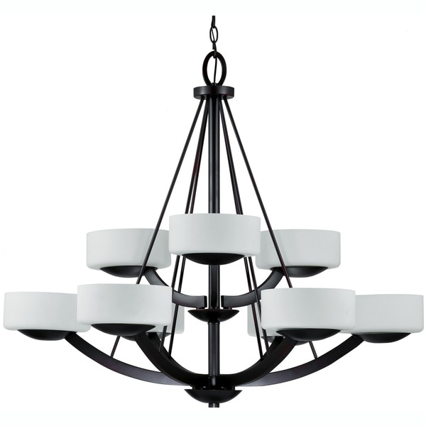 Viking 9-light Oil Rubbed Bronze Chandelier