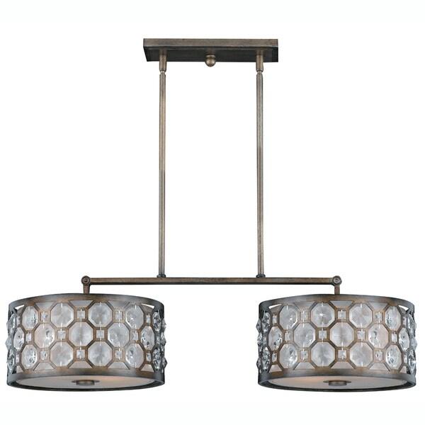 Cartier 4-light Weathered Bronze Island Light