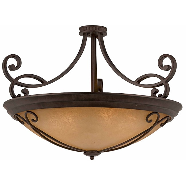 Corsica 12-light Semi-flush Convertible Pendant