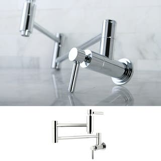 Buy Pot Filler Kitchen Faucets Online At Overstock Com