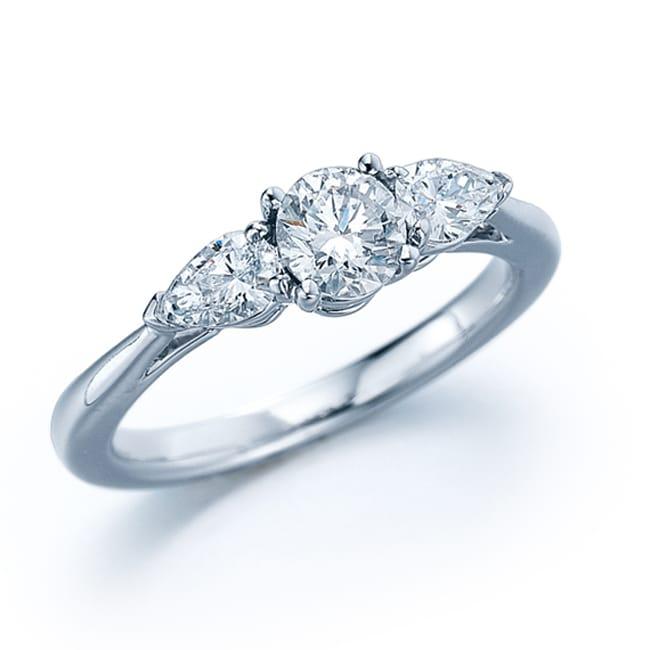 14k White Gold 3/4ct TDW Diamond Engagement Ring (H-I, I1-I2)
