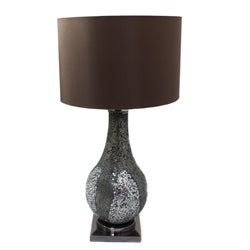Casa Cortes Mosaic Glass 31-inch Table Lamp