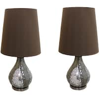 Casa Cortes Mosaic Glass 26-inch Table Lamps (Set of 2)