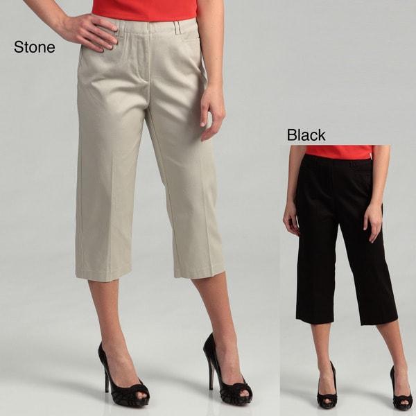 Counterparts Women's 'Slim Your Tummy' Capri Pants