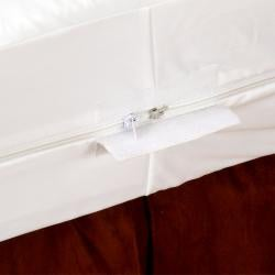 Rest Assure Waterproof Cotton King-size Mattress Encasement - Thumbnail 1