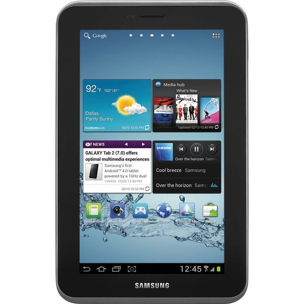 "Samsung Galaxy Tab 2 Tablet - 7"" - 1 GB Dual-core (2 Core) 1 GHz - 8"