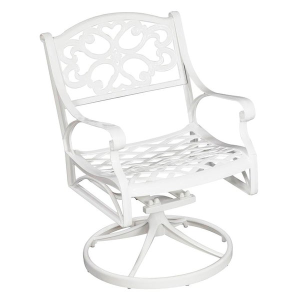 Biscayne Cast Aluminum Outdoor Swivel Chair By Home Styles Part 83