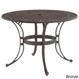 Biscayne Cast Aluminum 42-inch Outdoor Dining Table by Home Styles (3 options available)