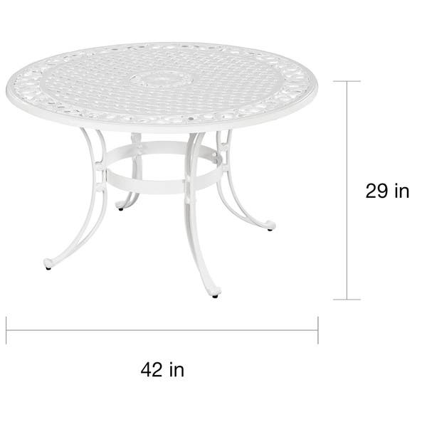 Outdoor Dining Table By Home Styles
