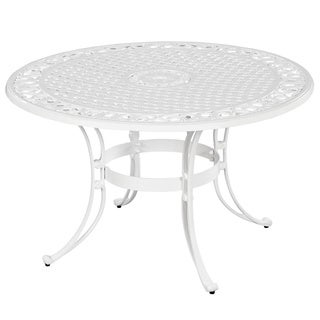 Home Styles Biscayne Cast Aluminum 42-inch Outdoor Dining Table