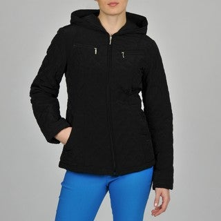Esprit Women's Hooded Zip Front Jacket
