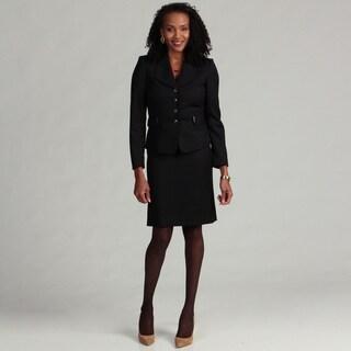 Tahari ASL Women's Pinstriped Skirt Suit