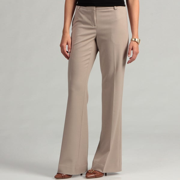 Calvin Klein Women's Wide Leg Lux Stretch Bowery Pants