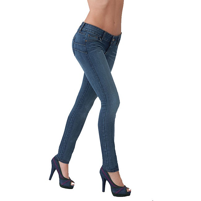 Women's Booty Enhancing Stretch Skinny Jeans - Free Shipping Today ...
