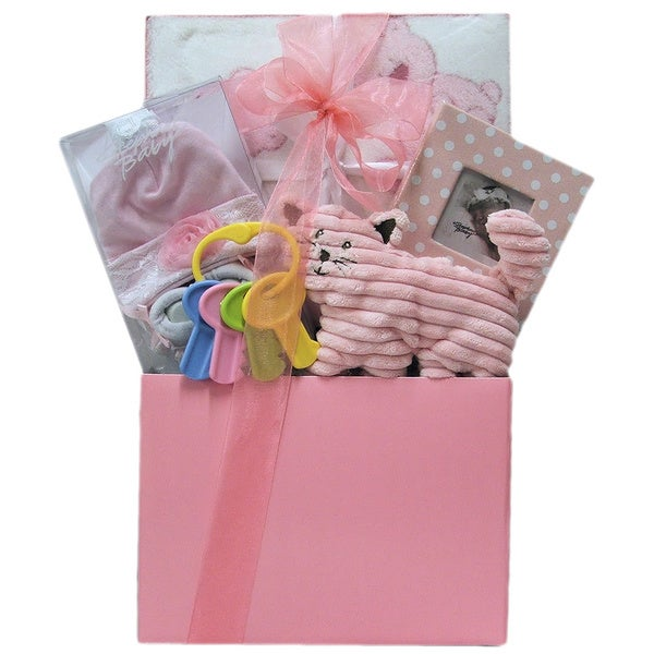Great Arrivals It's a Girl Baby Gift Basket