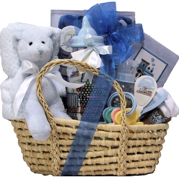 96d8169fa3f87 Great Arrivals Baby Boy Essentials Gift Basket