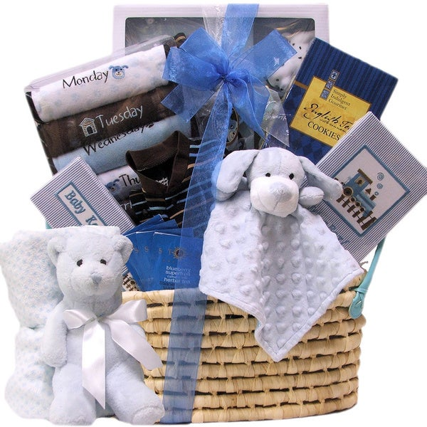 Shop Great Arrivals Welcome Home Baby Boy Gift Basket