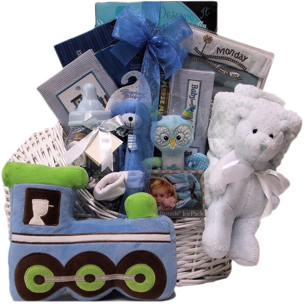 Great Arrivals Little King Baby Boy Gift Basket
