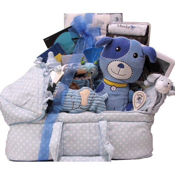 Great Arrivals Best Wishes Baby Boy Gift Basket