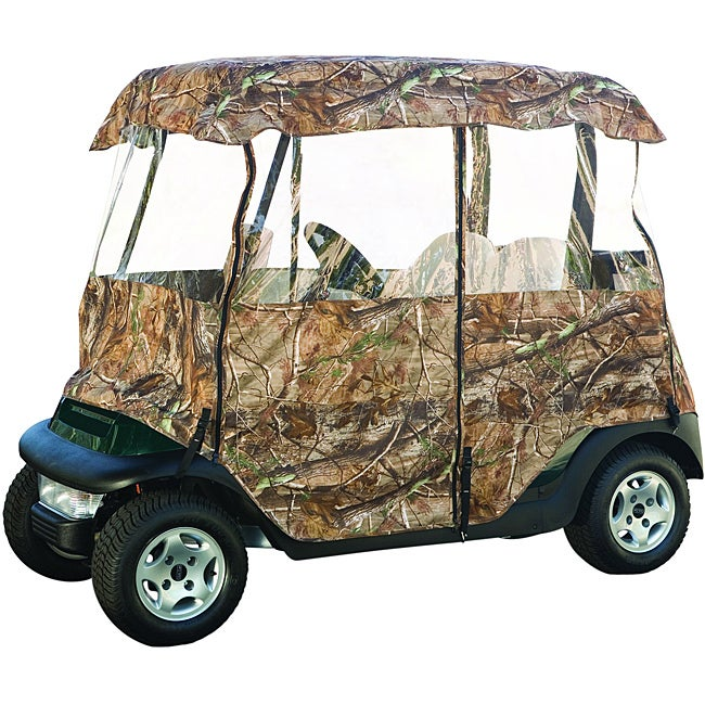 Fairway Deluxe Camo Golf Cart Enclosure