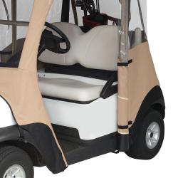Fairway Club Car Precedent Golf Cart Enclosure - Thumbnail 2