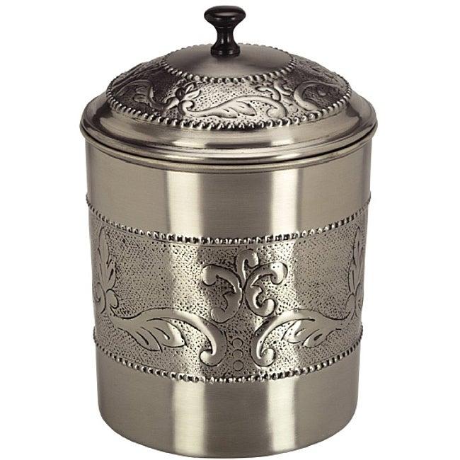Old Dutch Antique Embossed Victoria Cookie Jar