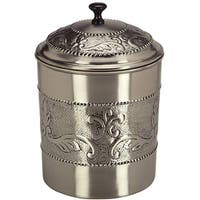 Old Dutch Victoria Antique Embossed Stainless Steel Cookie Jar