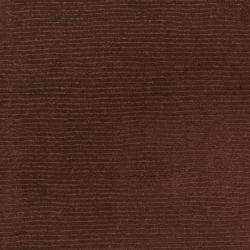 Hand-crafted Brown Solid Casual Nivia Wool Rug (6' x 9') - Thumbnail 2