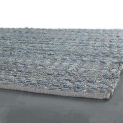Artist's Loom Handmade Flatweave Contemporary Reversible Rug (7'9 x 10'6)