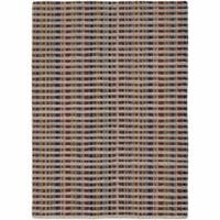 Artist's Loom Hand-tufted Contemporary Geometric Wool Rug - 7'9 x 10'6