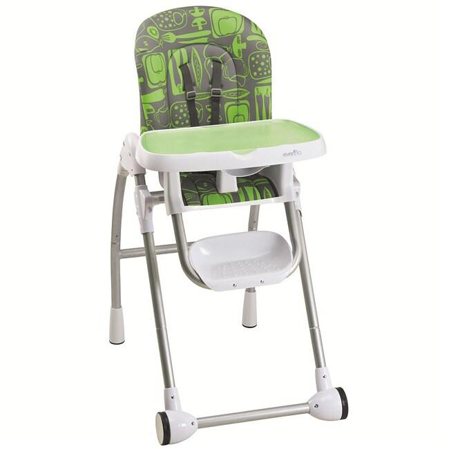Evenflo Modern 200 High Chair in Green Apple