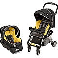 Evenflo Featherlite 400 Travel System in Tangerine